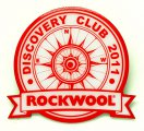 Значок Rockwool шелкография