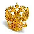 Изготовление значков литьем - значок Герб России