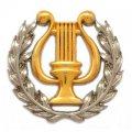 Изготовление значков литьем с комбинацией двух покрытий золото и серебро