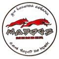 Значок MadDog - для бешеной собаки семь верст не крюк