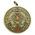 Юбилейные медали 55 лет 813 ВП МО РФ с объемными элементами