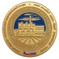 Производство памятных медалей Первый чешско-российский энергетический проект Вологодская область город Красавино